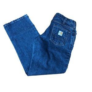 Carhartt women's jeans medium wash size 2 short